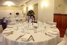Table setup - Jo & Jason Charlemagne Lodge