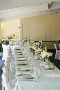 Beautiful Head Table - Emma & Sam Charlemagne Lodge