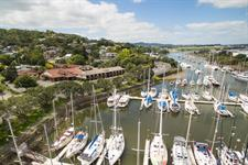 DH Whangarei - Aerial Town Basin 2016 Distinction Whangarei Hotel & Conference Centre