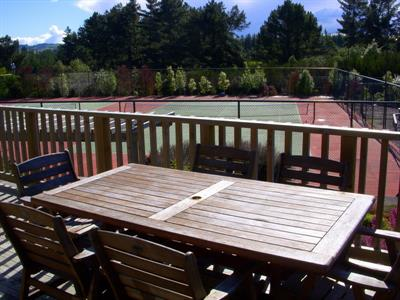 Deck Of Wimbledon Cottage, By Tennis Courts