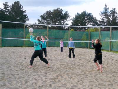 Volleyball at Lake Taupo Holiday Resort
