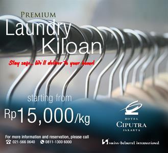 Premium Laundry Package Hotel Ciputra Jakarta