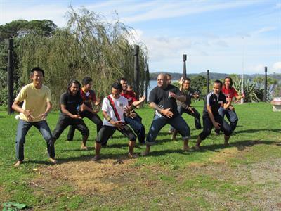 Haka Marae 2 TIME Unlimited NZ Tours