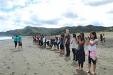 Hawaiian Group_Piha beach 2 TIME Unlimited NZ Tours