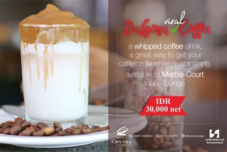 Dalgona Coffee Hotel Ciputra Jakarta managed by Swiss-Belhotel International