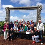 Hosting Group at Arataki visitor Centre
