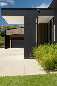 entry view to garage davista architecture LTD