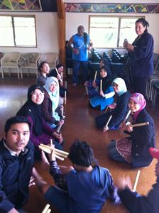 Maori Workshop_learning the Maori stick games