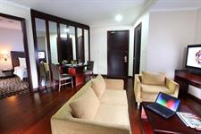 Executive Suite Living Room Swiss-Belhotel Merauke