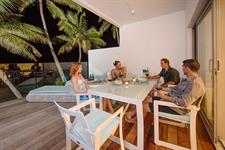 At night - Beachfront Villa