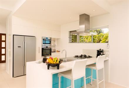 Cook up a storm - Beachfront Villa Kitchen Crystal Blue Lagoon Villas