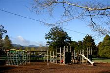 Adventure Playground,Toddler's Pool & Frisbee Park Wellington's Kiwi Holiday Park