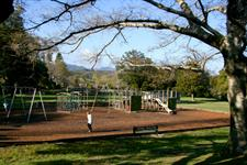 Children's Play Area in Harcourt Park Wellington's Kiwi Holiday Park