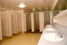 Communal Bathroom Amenities Showers & Toilets Wellington's Kiwi Holiday Park