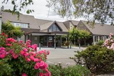 Dunedin Leisure Lodge Main Entrance Daytime SG1 Dunedin Leisure Lodge - A Distinction Hotel