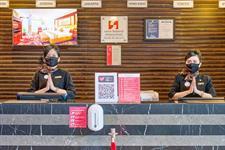 Reception Swiss-Belhotel Mangga Besar Jakarta