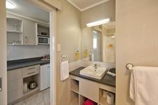 Deluxe Studio Kitchen and Bathroom