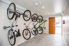 Pedlars Facilities Secure Lock Up Bicycle Storage