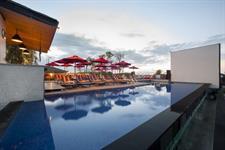 Rooftop Pool Swiss-Belinn Legian, Bali