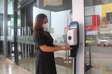 Touchless Hand Sanitizer Swiss-Belhotel Cirebon