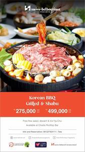 Korean BBQ Grill Shabu Swiss-Belboutique Yogyakarta