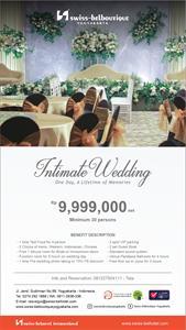 Intimate Wedding Swiss-Belboutique Yogyakarta