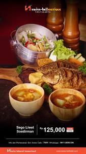Nasi Liwet Swiss-Belboutique Yogyakarta