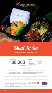 Meal Box Swiss-Belboutique Yogyakarta