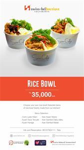 Rice Bowl Swiss-Belboutique Yogyakarta