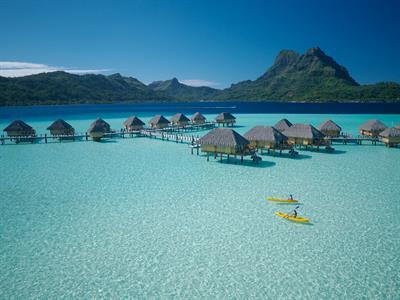 Bora Bora Water Activities - Tahiti Pearl Beach Resort  - Kayaking 1 Bora Bora Pearl Beach
