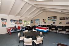 Games Room With Air Hockey And Foosball