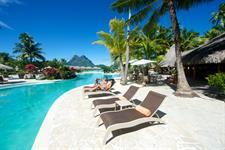 Bora Bora Water Activities - Tahiti Pearl Beach Resort - Pool Bora Bora Pearl Beach
