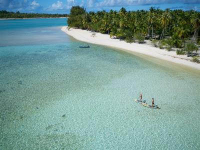 d - Le Sauvage Private Island - paddle boarding Le Sauvage Private Island