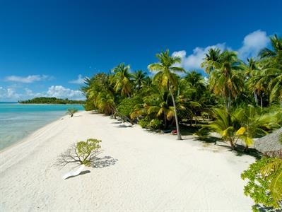 a - Le Sauvage Private Island - The Beach