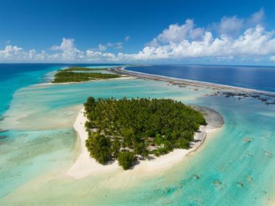a - Le Sauvage Private Island - The Island aerial Le Sauvage Private Island