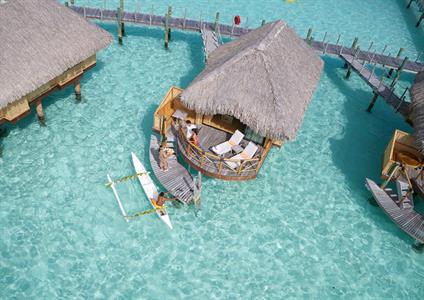 3a - Bora Bora Pearl Beach & Spa - Overwater Bunga Bora Bora Pearl Beach Resort & Spa
