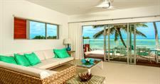 Beachfront lounge Crystal Blue Lagoon Villas