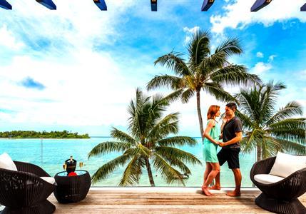 master bedroom balcony - BF villa Crystal Blue Lagoon Villas