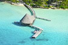 a - Le Tahaa Island Resort & Spa - aerial view