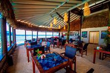 Restaurant & Bar Interior Manuia Beach Resort