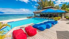 On the Beach Restaurant 2 Manuia Beach Resort