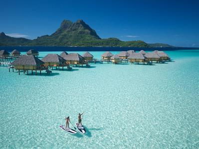 Bora Bora Water Activities - Tahiti Pearl Beach Resort - SUP Bora Bora Pearl Beach