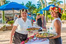 Serving Manuia Beach Resort