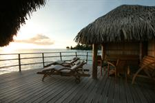 4b - Le Tahaa Island Resort & Spa - End of Pontoon