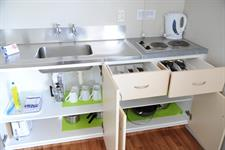 Kitchenette in Self Contained Unit