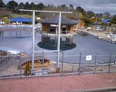 Finishing Touches On Lusty's Lagoon