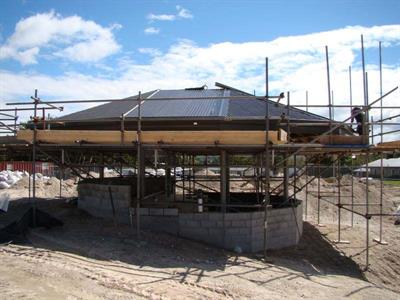 The Roof On The Swim Up Bar & Cafe Lake Taupo Holiday Resort