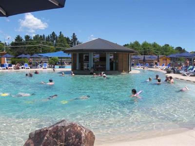 Thermally Heated Lusty's Lagoon Lake Taupo Holiday Resort