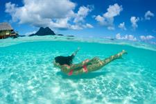 Bora Bora Water Activities - Bora Bora Pearl Beach Resort & Spa - Swimming