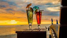 Relaxing Sunset Manuia Beach Resort